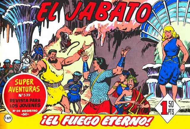 comic jabato: